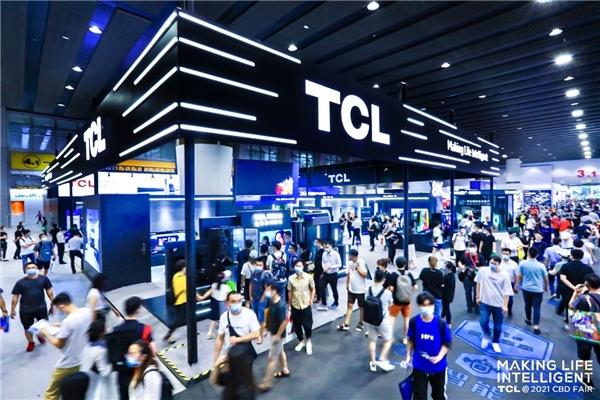 TCL智屏惊艳建博会,打造全场景未来智慧家居生活缩影